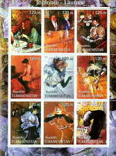 Henri De Toulouse-Lautrec Paintings On Stamps 20D-003