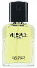 VERSACE L'HOMME / L homme edt Cologne 3.3 / 3.4 oz NEW tester WITH CAP