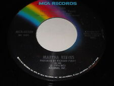 Martha Reeves: My Man (You Changed My Tune) / Facsimile 45 - Soul