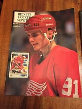 Beckett Hockey Monthly Magazine, May 1991 Sergei Sedorov, Detroit Red Wings (CN)