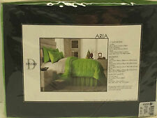 Studio D Aria King Bedskirt  Lime Green purple Blue Orange NWT