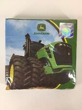 John Deere 16 Beverage Napkins Tractor Theme Birthday Party Supplies Tablewear