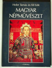 BOOK Hungarian Folk Art pottery wood carving costume ethnic embroidery furniture