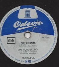 Rodgers-Duo mit Teddy Andersen Ensemble : Der Fremdenlegionär + Der Wilddieb