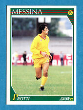 Cards-Figurina/Stickers SCORE 92-n. 310 - PROTTI - MESSINA