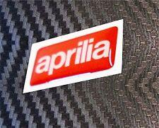 1 ADESIVI APRILIA RESINATI ADESIVO RESINATO APRILIA 3D STICKERS 3X1,5 CM COD.08