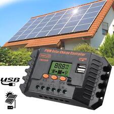 12/24V PWM 2 USB Regolatore di Carica Solare Pannelle Batteria Controllore 20A