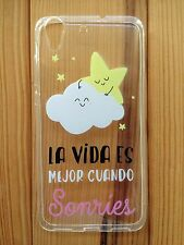 Funda de silicona (case - cover) con frases para Iphone 6 / 6S