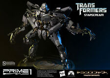 Sideshow Prime 1 Studio Transformers Starscream LED Light Up Statue MIB In Stock