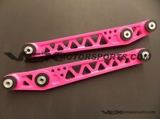 FUNCTION7 PINK LOWER CONTROL ARMS 1996 1997 1998 1999 2000 FOR HONDA CIVIC EK EK