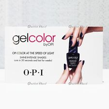 "OPI WINDOW CLING GelColor O.P.I Gel Nail Lacquer Size 4.75"" x 8.25"" GC900 GL900"