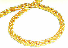 SILKY PIPING/EDGING ROPE 8MM CORD, GOLD/LIGHT-GOLD, SOLD BTM, ART 08-2404.8