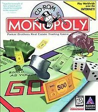 MONOPOLY (1995) PC CD-ROM NEW & FACTORY SEALED