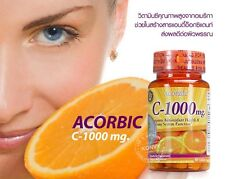 Vitamin C-1000 mg Acrobic Supports Antioxidant Dietary Supplement 30 Tablets