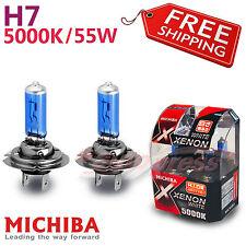 MICHIBA H7 12V 55W 5000K XENON LOOK Leuchte Birnen Glühbirnen Weiß Fernlicht