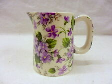 Violet mini cream jug pitcher jug by Heron Cross Pottery