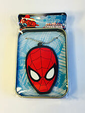 SPIDER-MAN NECKLACE and Collectible Tin Nerd Block Jr February 2017