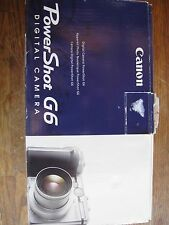 Cannon G6 In Box