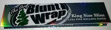 1 cuadernillo, Blunt Wrap king size Slim, esmoquin Papers nuevo y original!