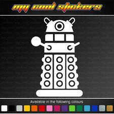 Dalek - Doctor Who Vinyl Sticker Decal for car, ute, truck, bike, window