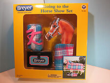 BREYER TRADITIONAL-Going To The Horse Show  Set-New In Box