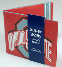 NEW! Ohio State Buckeyes Billfold Wallet NFL Credit Card Holder Super Wally Gift