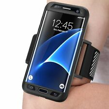 New !! SUPCASE Samsung Galaxy S7 Edge - Easy Fitting Sport Case, Running Armband