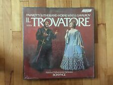 Pavarotti - National Philharmonic Orchestra - Verdi Il Trovatore SEALED LP Set