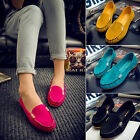 New Womens Casual Platform Sneakers Boat Shoes Ballet Flats Loafers Candy Color