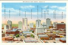 Fort Worth, TX The Fort Worth Skyline, Identified