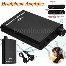 XU09 Portátil HIFI Auriculares Headphone Amplificador AMP Audio + USB Cable Kit