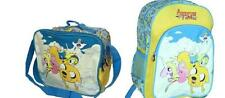 Adventure Time Lady Rainicorn Finn Jake Bubblegum Backpack Lunch Tote Bag Combo
