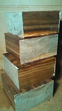 Black Walnut Wood Lathe Bowl Turning Blanks 6 x 6 x 3 Lot of 4