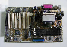 1PC used ASUS P3V 4X motherboard with CPU with ISA slots