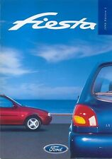 Ford Fiesta Encore LX Si Ghia X 1997-98 Original UK Sales Brochure No. FA1260/6