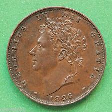 1826 George IIII Farthing SNo40731