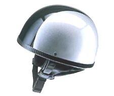 Helm Redbike RB-500 Halbschalenhelm silber-schwarz Gr. XL