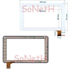 "Vetro Touch screen Digitizer 7,0"" Virgo MID7575 Android 4.2 Tablet PC Bianco"