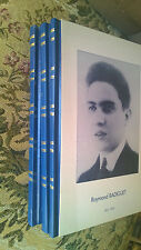 RADIGUET - Oeuvres - 3vol. emboitage - Le Diable au corps - 1998    TBE