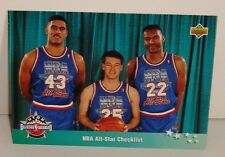 CARTE DE COLLECTION BASKET BALL EAST ALL STARS NBA ALL STAR CHEKLIST