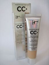 IT COSMETICS Your Skin But Better CC+ Cream LIGHT Color Correcting .406 oz