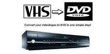 Toshiba d-vr17 combinazione DVD VCR VIDEOREGISTRATORE COMBI Combo copiare vhs dvd