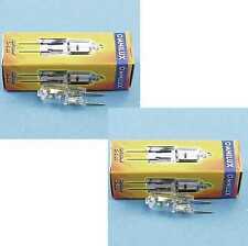 2 Stück OMNILUX JC 12V 50Watt G-6,35 2900K Studiolampe Stiftsockel-Lampe Gx-6,35