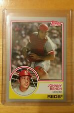 2015 Topps Johnny Bench silver border #/199 Reds