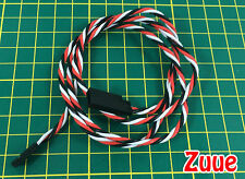 Twisted 80cm Servo Extension Lead (FUTABA) 22AWG