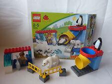 LEGO Duplo Ville Polartiergehege - Eisbär, Fisch, Pinguin - Arktis - Set 5633