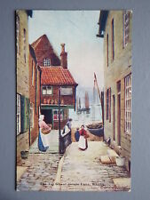 R&L Postcard: Warren Williams, The Tin Ghaut Grape Lane Whitby, ETW Dennis