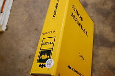 KOMATSU D375 Tractor BULLDozer Crawler Service Repair Manual book shop overhaul