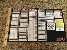 *2013 Lug Nut Torque Application Chart Ascot New! free shipping!
