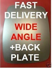 MERCEDES VITO 1996-2003 DOOR WING MIRROR GLASS CONVEX +PLATE RIGHT OR LEFT
